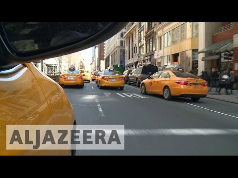 Mobile apps threaten New York's taxi industry