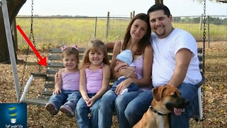 التقط صور مع عائلته ولكن بعد مشاهدة الصور تفاجئوا بوجود شيء صدمهم جميعا..!!