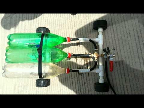 carro de propulsión a chorro