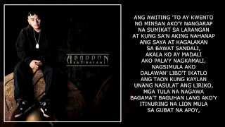 Abaddon - Pinapangarap Ko Ft. Curse One (With Lyrics)