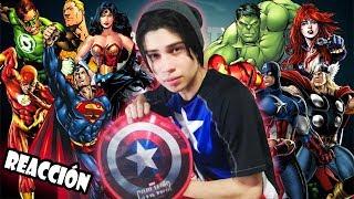 Los Vengadores vs La Liga de la Justicia Épica Batalla Final de Rap del Frikismo (VÍDEO REACCIÓN)
