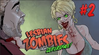 Lesbian Zombies from Outer Space, Chapter 2 -- Horror Comedy Motion Comic 18+