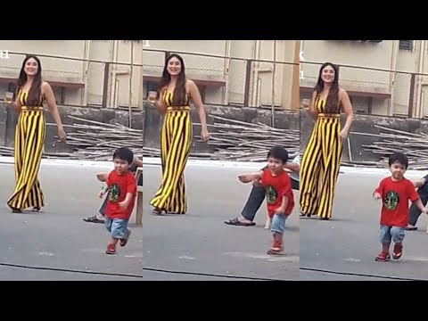 Xxx Mp4 Taimur Ali Khan 39 S Cutest Video While Playing With Mom Kareena Kapoor 3gp Sex
