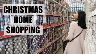 Holidays Home Decor Shopping !! Diana & Jose