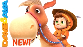 🐎 Yankee Doodle | Kids Songs | Nursery Rhymes and Songs for Kids from Dave and Ava 🐎