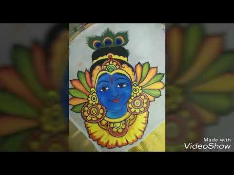 Xxx Mp4 Kerala Mural Art In Kerala Saree By Sneha Dayal Pred 3gp Sex
