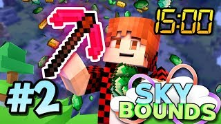 $1,000,000 IN 15 MINUTES!? - Skybounds Minecraft Skyblock #2