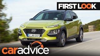 2018 Hyundai Kona First Look | CarAdvice