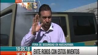 02-10-2015 Canal13 Bienvenidos - Surge invento para evitar robos de autos
