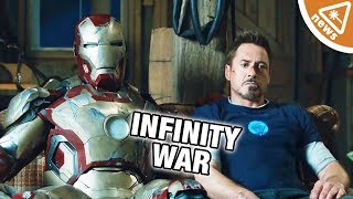 What Does Tony Stark's New Look Mean for Avengers Infinity War? (Nerdist News w/ Jessica Chobot)
