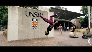[HD] TRICKING and KICKING at UNSW | INVINCIBLE WORLDWIDE