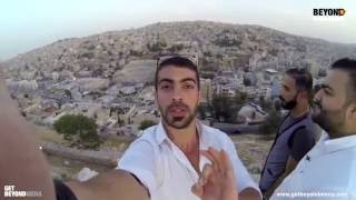جولة سياحية في الأردن في جبل القلعة- Mohamed Rafe in a touristic tour in Jordan