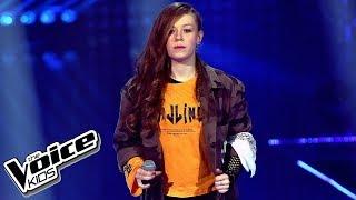 """Zuzia Jabłońska – """"Nieznajomy"""" – Finał – The Voice Kids Poland"""