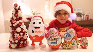 Christmas Mood Kinder Surprise Eggs etc