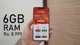 Infinix Hot 7 Pro Review,  Unboxing, PUBG Gameplay - 6+64GB, Quad Camera, P22 Octa Core Powered