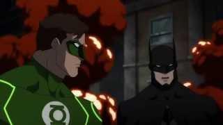 Justice League: WAR My Favorite Parts (Pt. 1) Batman And Green Lantern Moments