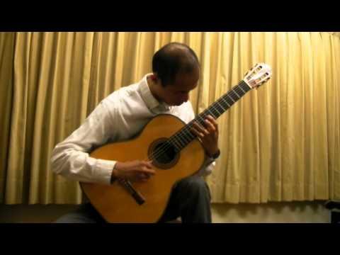 神田音楽学校 クラシックギター科講師 竹森良太先生演奏