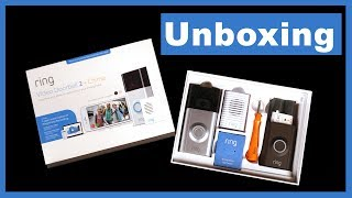 Ring Video Doorbell 2 Plus Chime - Unboxing