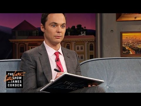 Jim Parsons Can t Remember Complex Math Equations