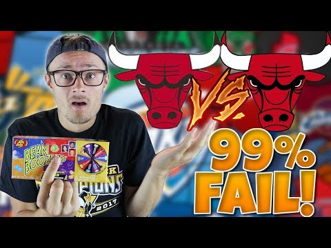 99% FAIL NBA Logo Quiz, and Every Time I get One Wrong I Eat a Bean Boozled
