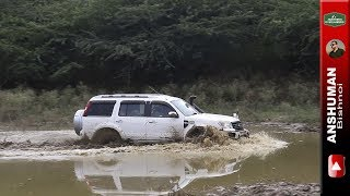 Yeti 4x4, Scorpio MLD 4wd, Isuzu V Cross, Duster, Endeavour: Weekend offroading in Mud. Aug17