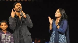 Kolaveri couple Dhanush, Aishwarya at NDTV