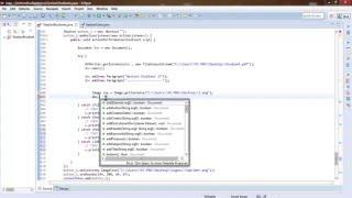 Tutoriel Java GUI #21 :  Créer document pdf avec Text , Image - Darija