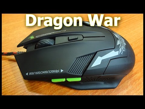 Dragon War Unicorn G8 Gaming Mouse - Unboxing & Hands-on Review