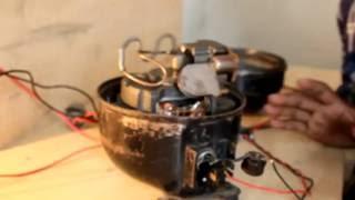 Compressor-Compressor Connection Bangla- How a Compressor Works-Refrigerator Repair