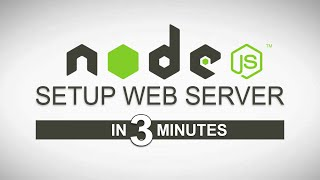 Node js Tutorial - Setup Web Server in 3 Minutes with http-server Module