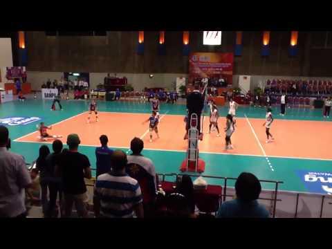PHILIPPINES vs SRI LANKA (3-2) Set 5 Winning Moment