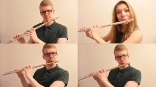 Coldplay ft. Beyonce - Hymn for the weekend (Vika Fedosova and Alex Petrov flute cover)