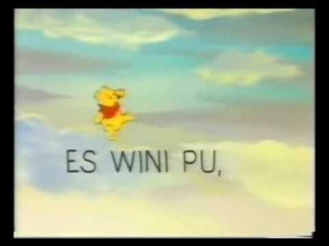winnie the pooh La cancion completa y subtitulada en español