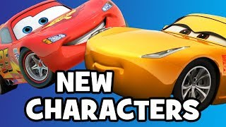 CARS 3 NEW Characters & Cast Breakdown
