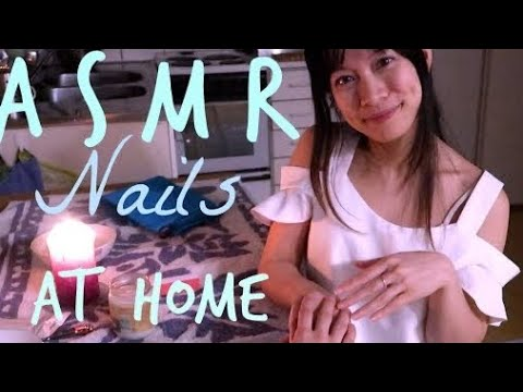 Xxx Mp4 ASMR Home Manicure Service Roleplay Hand Massage And Nail Care 3gp Sex