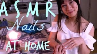 ASMR Home Manicure Service Roleplay Hand Massage and Nail Care