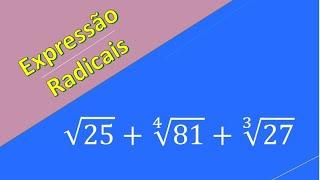 Exercício 1 de matemática 9º ano radicais  parte 1 de 2