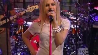 Avril Lavigne Complicated Live A&E