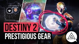 DESTINY 2 | NEW World Quests, Prestigious Gear, Lost Sectors & More!