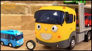 Bussy & Speedy - Little Tayo Bus CONSTRUCTION SKOOL - Compilation videos for kids