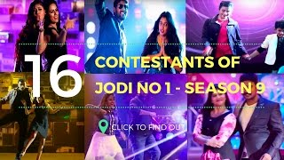 Vijay TV Jodi No 1 (Season 9) - Real vs Reel All Contestant/ Participants Name - Intro
