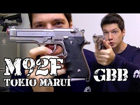 Vendo Airsoft Pistola M92Fs GBB Tokio Marui Legalizada Brasil