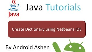 Create Dictionary Software using Netbeans IDE - Java Tutorial 2
