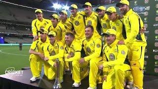 Match wrap: Warner outscores NZ, Aussies win 3-0