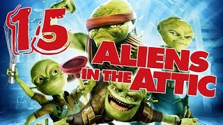 Aliens in the Attic Walkthrough Part 15 (PS2, Wii, PC) Movie Game - Level 15 - Ending