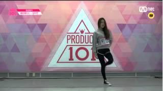 Produce 101 Pick Me evaluation - Happyface Kim Jayeon