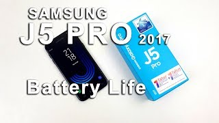 Samsung J5 Pro Battery Life