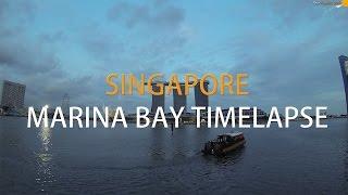 Marina Bay Sands time lapse, Singapore