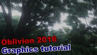 Oblivion 2016 Ultimate Graphics Tutorial - 10 Years of Oblivion !