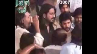noha Allah dey Hawaley veern Ammar Naqvi  17 Rajab 2015 marzipur jhang